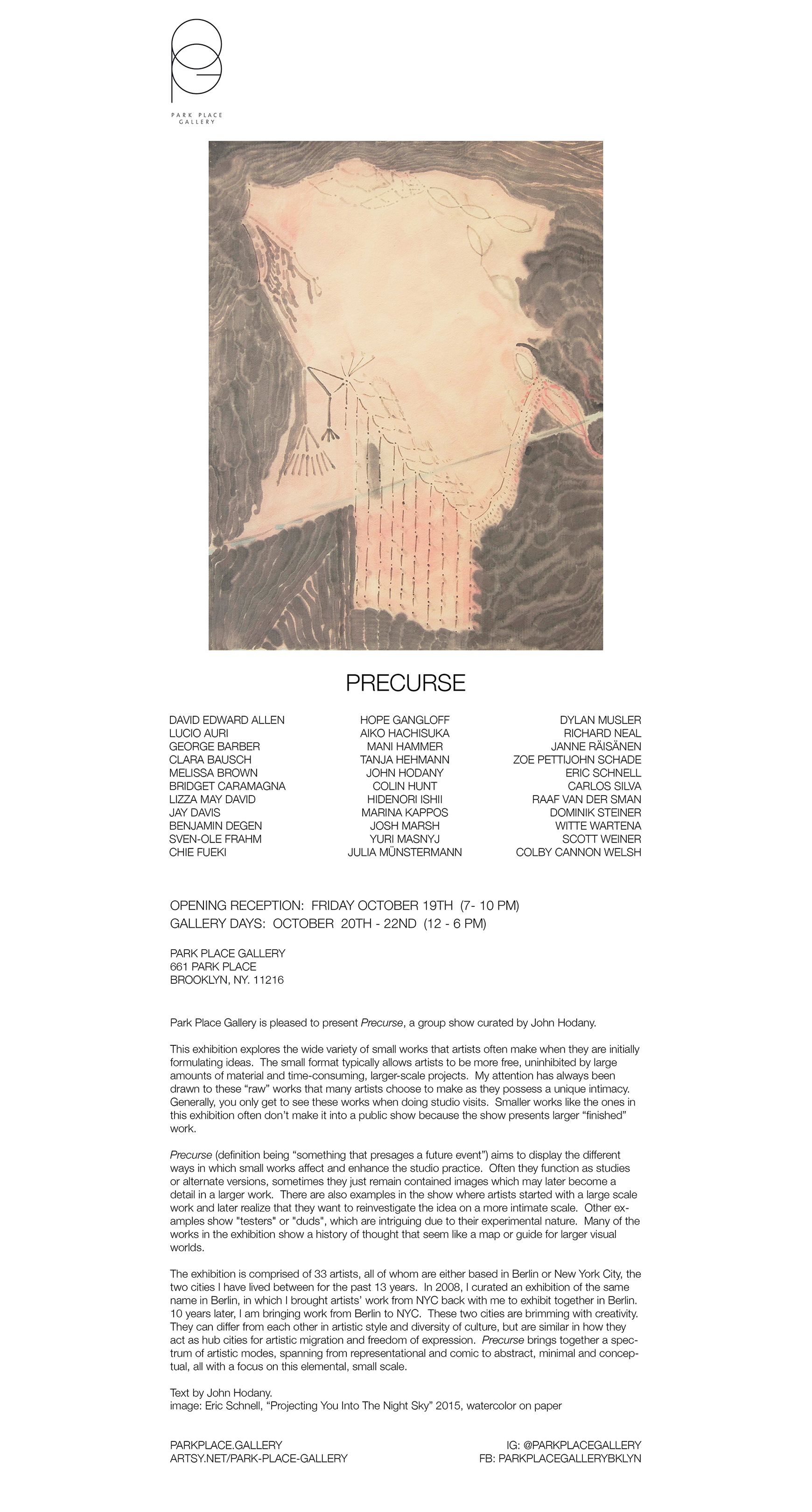 Precurse__park_place_gallery__curated_by_john_hodany